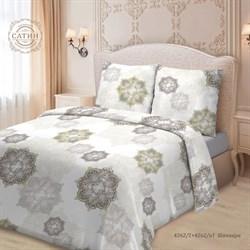 Комплект постельного белья евро Для SNOFF сатин рис.4262-1+4262а-1 Шаннара