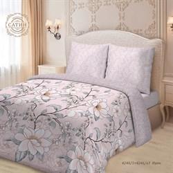Комплект постельного белья евро Для SNOFF сатин рис.4246-1+4246а-1 Ирен