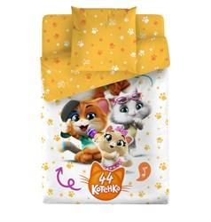 Комплект постельного белья 44 котёнка Веселая компания