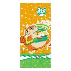 Махровые полот ВТ 44 Котёнка Пончик м1145_13 S  33* 70 оранж