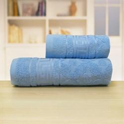 Махровые полотенца Ситара M  50* 90 син