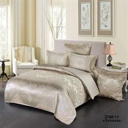 Комплект постельного белья евро Версаль с 4 нав. рис.3780-11 Хелена