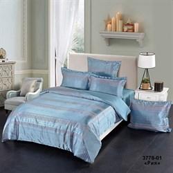 Комплект постельного белья евро Версаль 4 нав. рис.3778-01 Рия