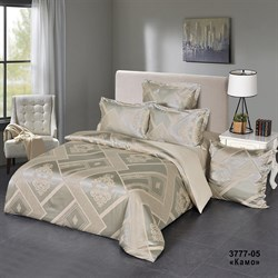 Комплект постельного белья евро Версаль 4 нав. рис.3777-05 Камо