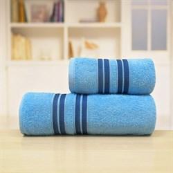 Махровые полотенца Лиман 70*140 син