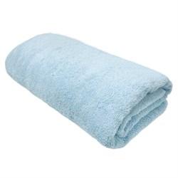 Махровые полотенца Моно 70*140 голуб