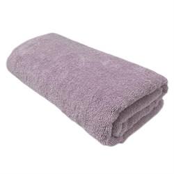 Махровые полотенца Моно 70*140 дымчатый