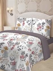 Комплект постельного белья евро Для SNOFF сатин Кларисса