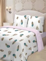 Комплект постельного белья евро Для SNOFF сатин Валентайн