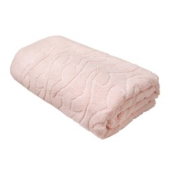 Махровые полотенца Каприз 70*130 роз
