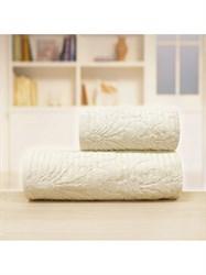 Махровое полотенце Корсо 70*140 крем