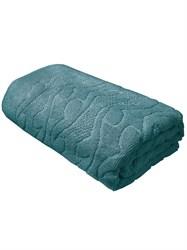 Махровые полотенце Каприз 70*130 зел