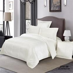 Комплект постельного белья семейный Версаль Снежана