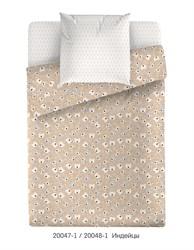 Комплект постельного белья Маленькая Соня Индейцы (бежевый)