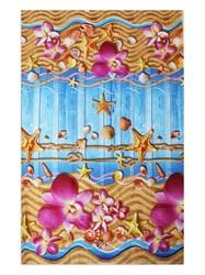 Вафельное полотенце 100*150 Звезды