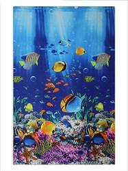 Вафельное полотенце 100*150 Рыбки