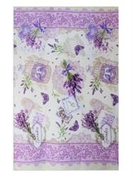 Вафельное полотенце 100*150 Сирень