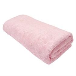 Махровые полотенца Моно L  70*140 розовое