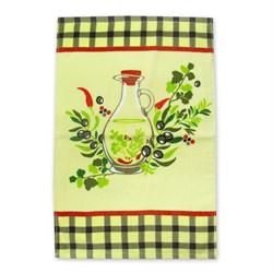 Махровые полот ВТ Кухня Оливки м1135_03 МS 40* 60 зел