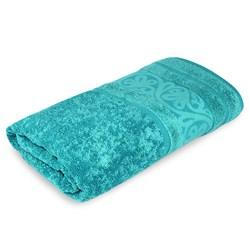 Махровое полотенце СТ Рускеала м5020_09 M 45*90 аква