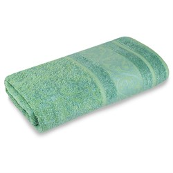 Махровое полотенце СТ Рускеала м5020_03 L 70*130 зел