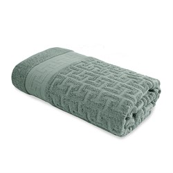 Махровое полотенце СТ Коринф м5021_03 L 70*130 зел