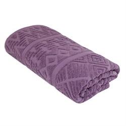 Махровое полотенце СТ Сити м5014_17 S 30* 70 фиол
