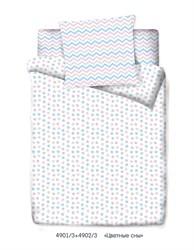 КПБ Маленькая Соня м100.05.04 Цветные сны (белый)