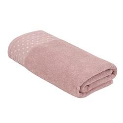 Махровое полотенце АЗ Женевьева м4038_02 M  50* 90 роз
