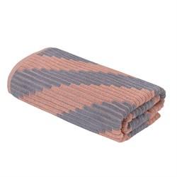Махровое полотенце CТ Шарм м5039_02 L 70*130 роз