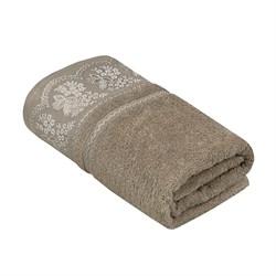 Махровое полотенце УЗ Флора м7001_07 L 70*130 кор