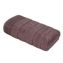 Махровое полотенце УЗ Феникс м7002_29  L 70*130 брусн