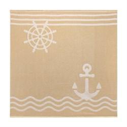 Махровое полотенце СТ Юнга м5036_05 XL 100*100 беж