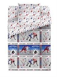 КПБ 1.5 Браво Кидс 100% хлопок нав.50*70 м112.13.04 рис.4518-1+4518а-1 Хоккей