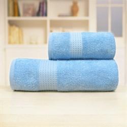 Махровое полотенце АЗ Самур м4030_01 XL 100*150 син