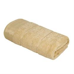 Махровое полотенце УЗ Феникс м7002_05 M 50* 80 беж
