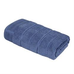 Махровое полотенце УЗ Феникс м7002_01  L 70*130 син