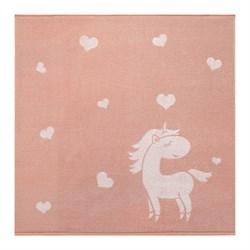 Махровое полотенце СТ Единорожка м5035_02 XL 100*100 роз