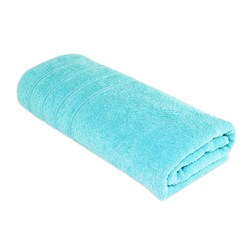 Махровое полотенце АЗ Стрикт м4055_09 L 70*130 аква