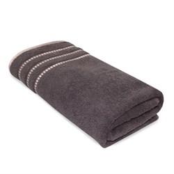 Махровое полотенце АЗ Ретро м4049_07 M  50* 90 коричн