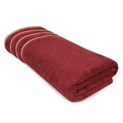 Махровое полотенце АЗ Ретро м4049_14 M  50* 90 бордо
